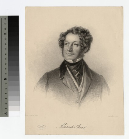 Portrait of A. Hood