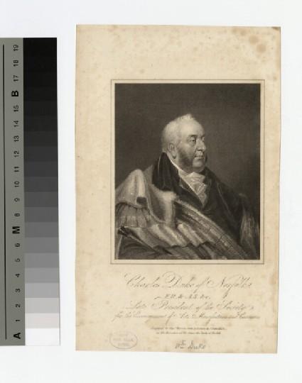 Portrait of Charles Howard, 11th Duke of Norfolk
