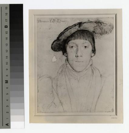 Portrait of Earl Surrey