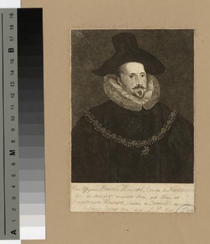 Portrait of Earl Northampton