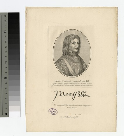 Portrait of John Howard, 1st Duke of Norfolk