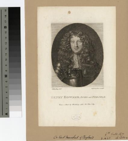 Portrait of Henry Howard, 6th Duke of Norfolk