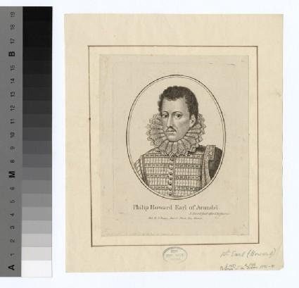 Portrait of Philip Howard, earl of Arundel