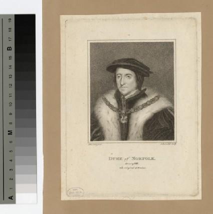 Portrait of Duke of Norfolk