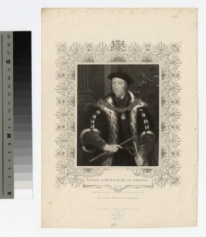 Portrait of Thomas Howard, 3rd Duke of Norfolk