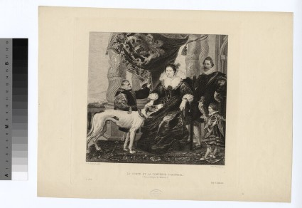 Portrait of Earl and Countess Arundel