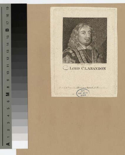 Portrait of Edward Hyde, 1st Earl of Clarendon