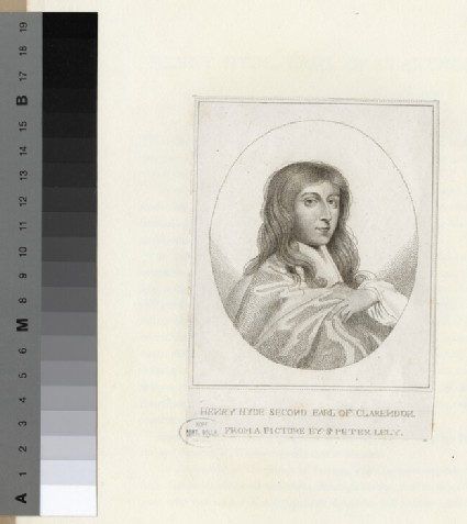 Portrait of Henry Hyde, 2nd Earl of Clarendon