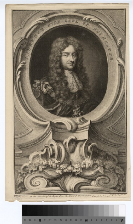 Portrait of Laurence Hyde, 1st Earl of Rochester