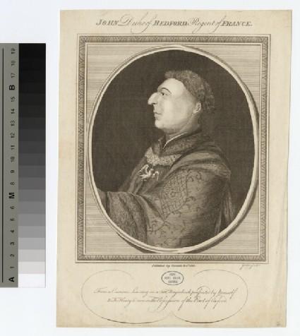 Portrait of John, Duke of Bedford