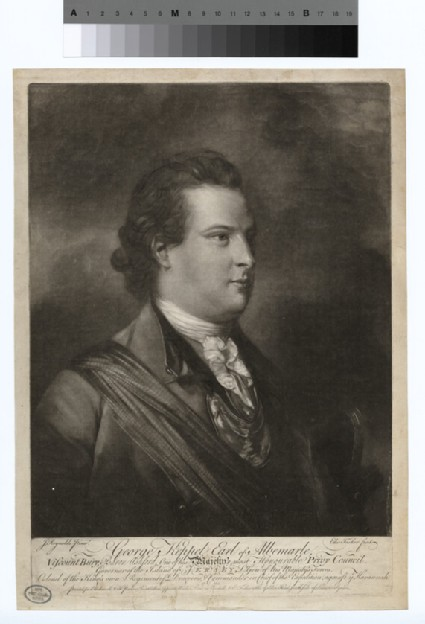 Portrait of the Earl of Albemarle