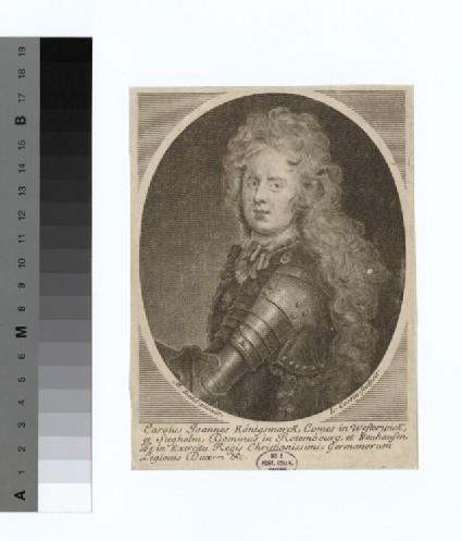 Portrait of Count Konigsmark