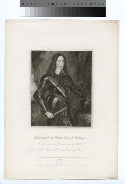 Portrait of William Kerr, 3rd Earl of Lothian