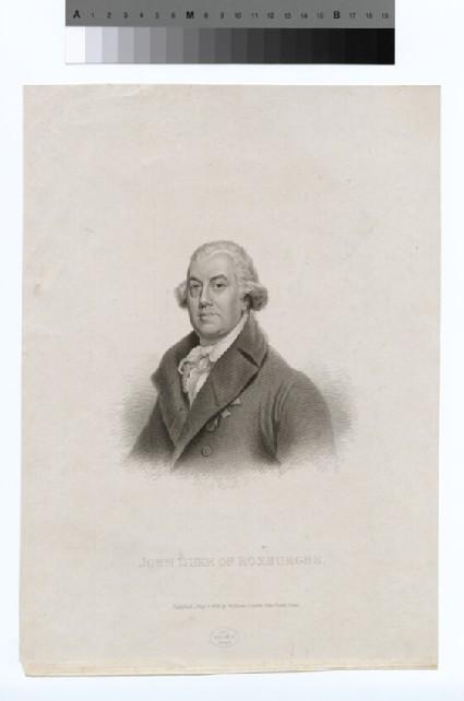 Portrait of Duke of Roxburghe
