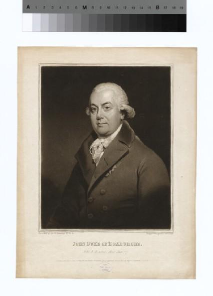 Portrait of Duke Roxburghe