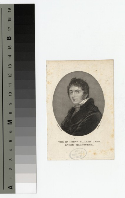 Portrait of Lord Melbourne