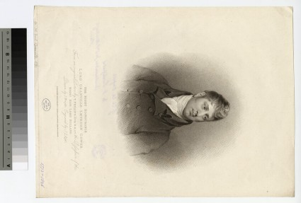 Portrait of Granville Leveson-Gower, 1st Earl Granville