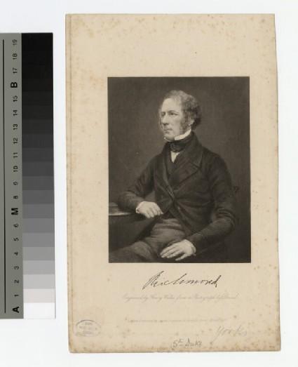 Portrait of Charles Gordon-Lennox, 5th Duke of Richmond