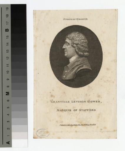 Portrait of Marquis Stafford