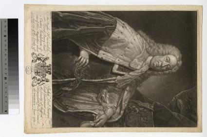 Portrait of John Leveson-Gower, 1st Earl Gower