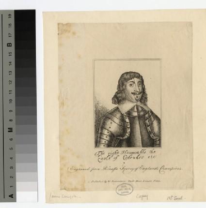 Portrait of Earl Calender
