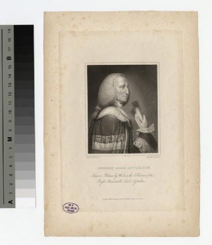 Portrait of Lord Lyttelton