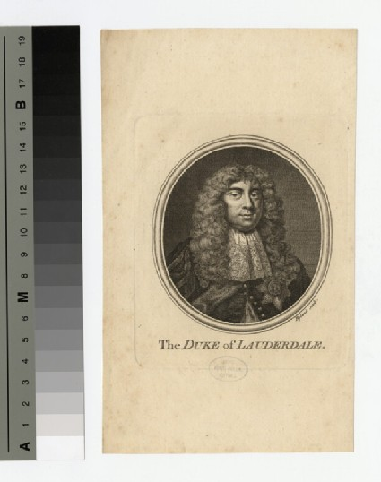 Portrait of Duke of Lauderdale