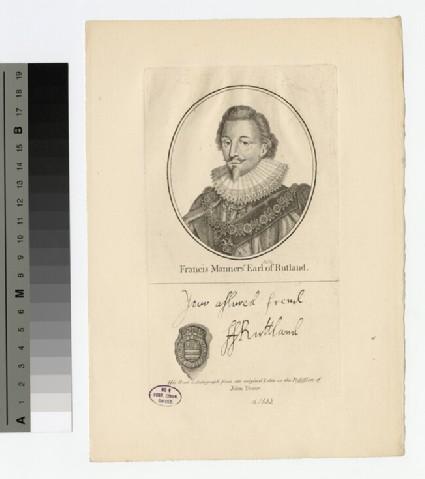 Portrait of Earl Rutland