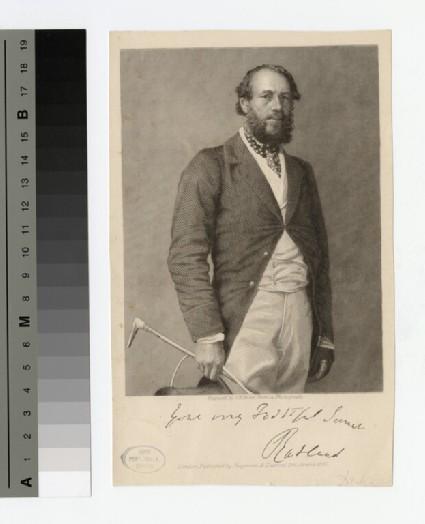 Portrait of John Manners, 5th Duke of Rutland