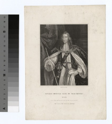 Portrait of Edward Montagu, 2nd Earl of Manchester