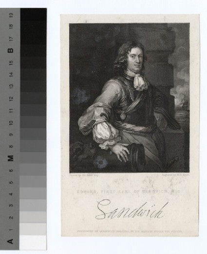 Portrait of Edward Montagu, 1st Earl of Sandwich