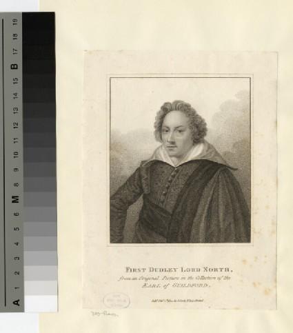 Portrait of North 3rd Baron