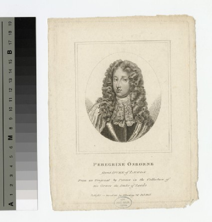 Portrait of Peregrine Osborne, 2nd Duke of Leeds