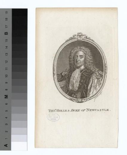 Portrait of Duke of Newcastle