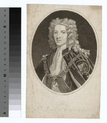 Portrait of Duke Newcastle