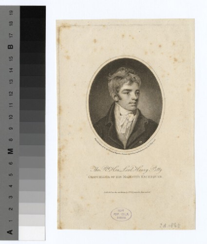 Portrait of H. Petty