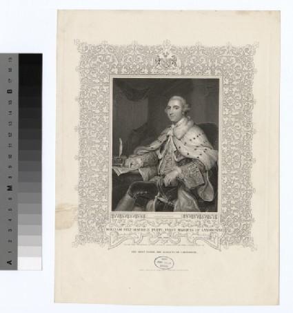 Portrait of 1st Marquis Lansdowne