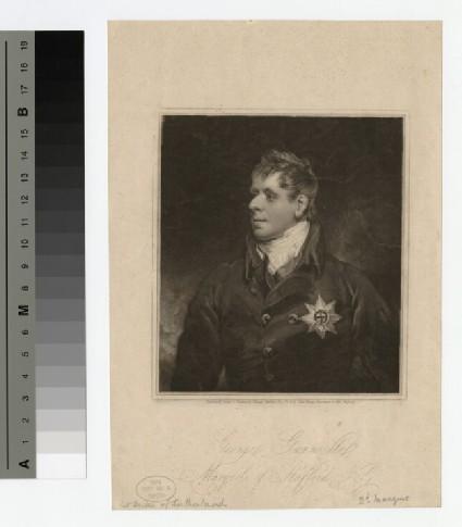 Portrait of Marquess Stafford