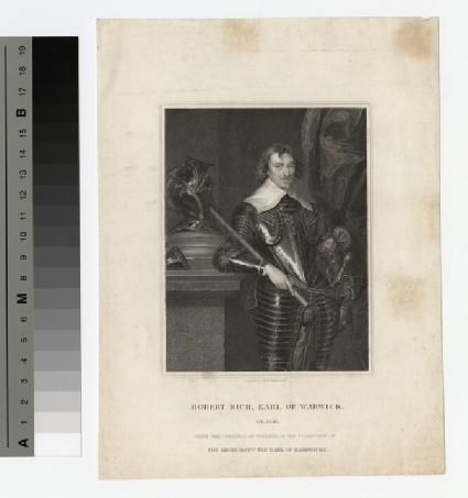 Portrait of Earl Warwick