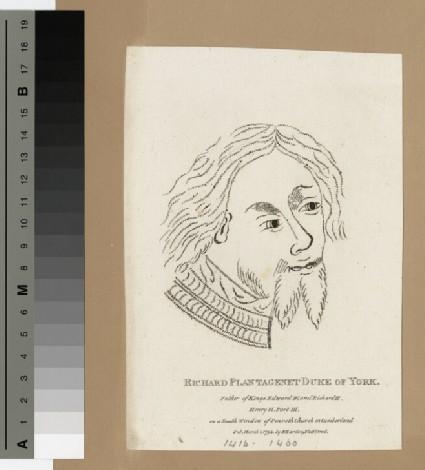 Portrait of York, Duke of (Plantagenet)