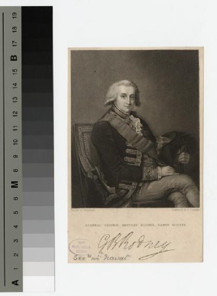 Portrait of Baron Rodney