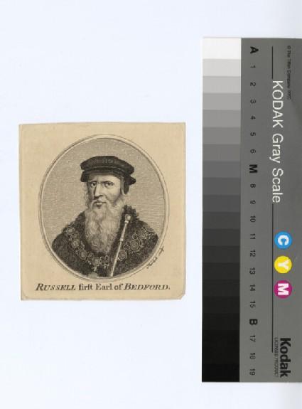 Portrait of John Russell, 1st Earl of Bedford