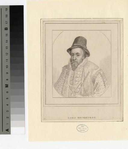 Portrait of Lord Buckhurst