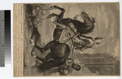 Equestrian portrait of Frederick Schomberg, 1st Duke of Schomberg