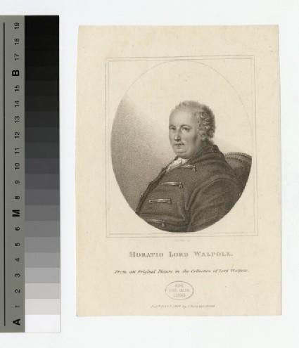 Portrait of Horatio Walpole