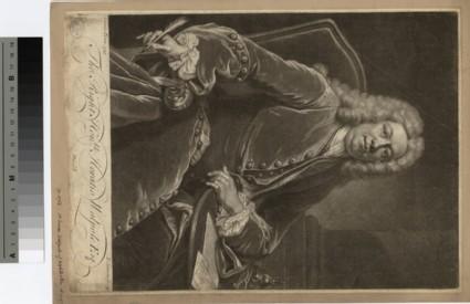 Portrait of 1st baron Walpole