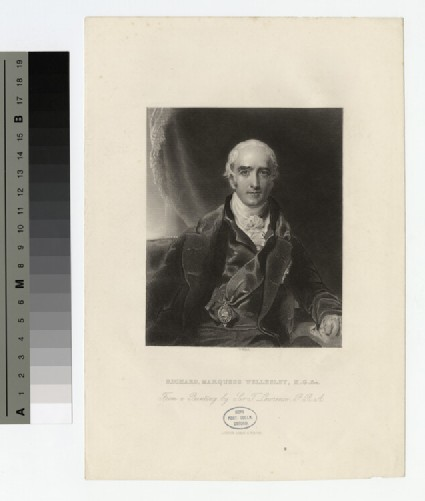 Portrait of Marquess Wellesley