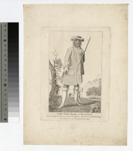 Portrait of Earl Delawarr
