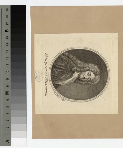 Portrait of Marquis Wharton
