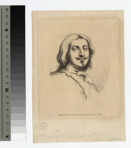 Portrait of Lord Widdrington